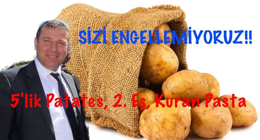 5'lik Patates Meclisi Karıştırdı