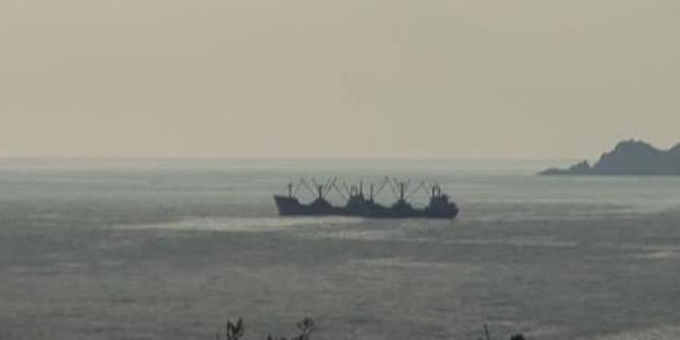 Riva'da iki gemi çarpıştı, 1'i battı!
