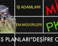 "PKK'NIN ""KAOS PLANI"" DEŞİFRE OLDU"
