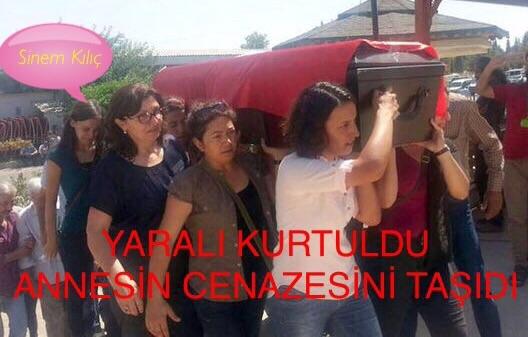Suruç'ta Yaralı Kurtuldu, Annesinin Cenazesini Taşıdı