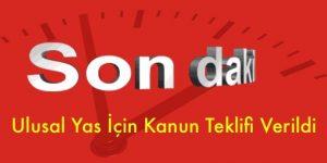 CHP'den Ulusal Yas İlanı İçin Kanun Teklifi