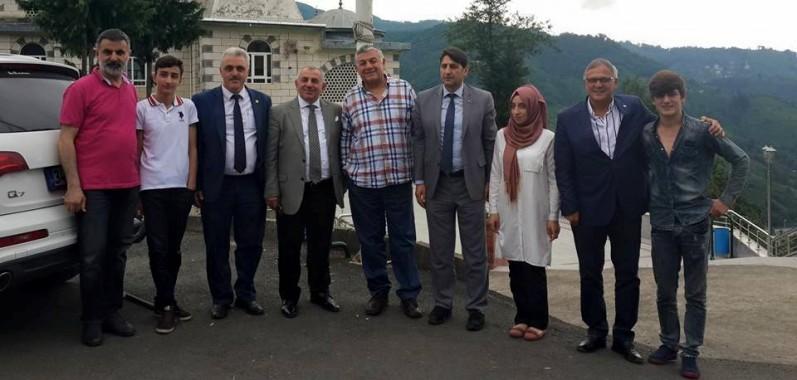ŞÜKRÜ GENÇ, SON İFTAR'DA RİZE'DE