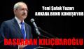 Yeni Şafak Yazarı. Başbakan Kılıçdaroğlu