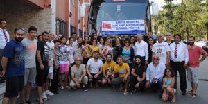 Sarıyer Belediyesi Avrupa Halk Oyunları Festivalinde