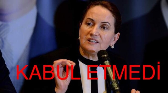 MHP, Meral Akşener teklifi kabul etmedi