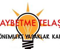 AKP,Yİ KAYBETME TELAŞI SARDI. 3 DÖNEMLİKLER GERİMİ GELİYOR