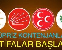 """""""SÜPRİZ KONTENJANLAR"""" ADAYLIK İÇİN İSTİFALAR BAŞLADI"""