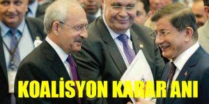 CHP-AKP KOALİSYON KARAR ANI