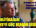 Stephen Kinzer, AKP Politikaları. Türkiye'yi Güç Olarak Geriletti.