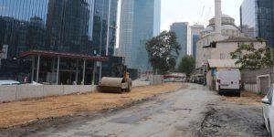 Maslak'ta İşgallerin Kaldırılmasıyla Trafik Sorunu Çözüme Kavuşuyor