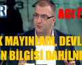 """""""YANDAŞ İTİRAFI"""""""" PKK MAYINLARI DEVLETİN BİLGİSİ DAHİLİNDEYDİ"""