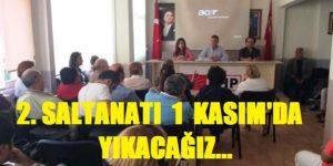 CHP SARIYER  YAPILAN HİZMETLERİ HALKA TANITIYOR