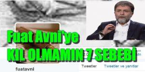 Ahmet Hakan: Fuat Avni'ye kıl olmamın 7 sebebi…