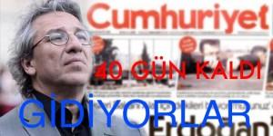 40 GÜN KALDI GİDİYORLAR