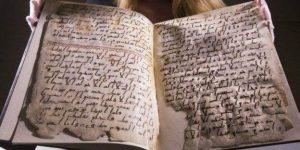 """""""MÜTHİŞ İDDİA"""" Times: Kuran, Muhammed Peygamber'den önce yazılmış olabilir"""