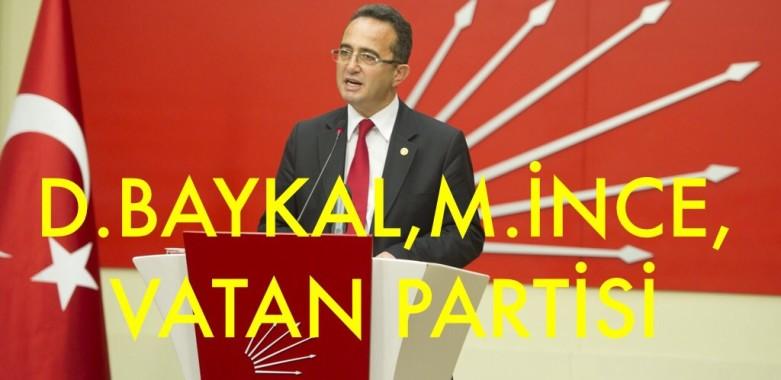 D.BAYKAL,M.İNCE, VATAN PARTİSİ AÇIKLAMASI