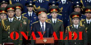 Putin, Suriye için parlamentodan onay aldı. OPERASYONLARA KATILACAĞIZ