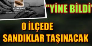 """""""YİNE BİLDİ"""" Cizre'nin Nur, Sur ve Cudi mahallelerinde seçim yapılmayacak!"""