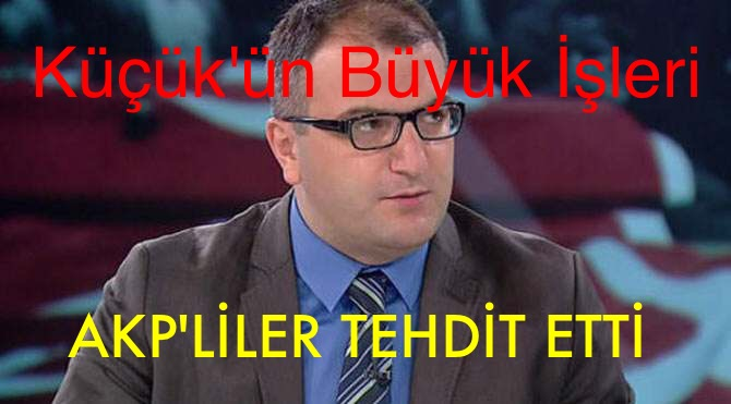 AKP'LİLERİ TEHDİT ETTİ