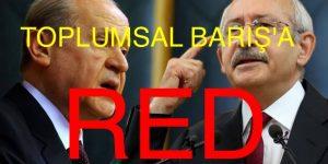 """"""" İNANILMAZ"""" BAHÇELİ'DEN KILIÇDAROĞLUNA RED"""