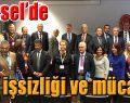 """ŞÜKRÜ GENÇ BRÜKSEL'DE """"GENÇ İŞSİZLİĞİ"""" ANLATTI"""