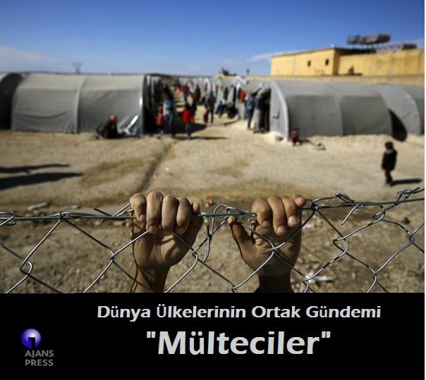 """Dünya Ülkelerinin Ortak Gündemi """" Mülteci Göçü"""""""