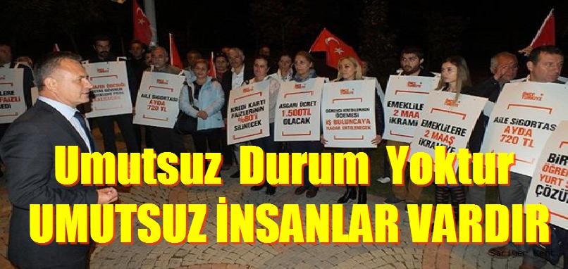 Mehmet Deniz, UMUTSUZ DURUM YOKTUR, UMUTSUZ İNSANLAR VARDIR