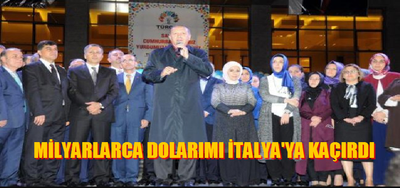 """İTİRAF MI?"" Milyarlarca Dolarımı İtalya'ya Kaçırdı"