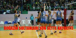 Boğazın Sultanları – Galatasaray karşısında son sette kaybetti.