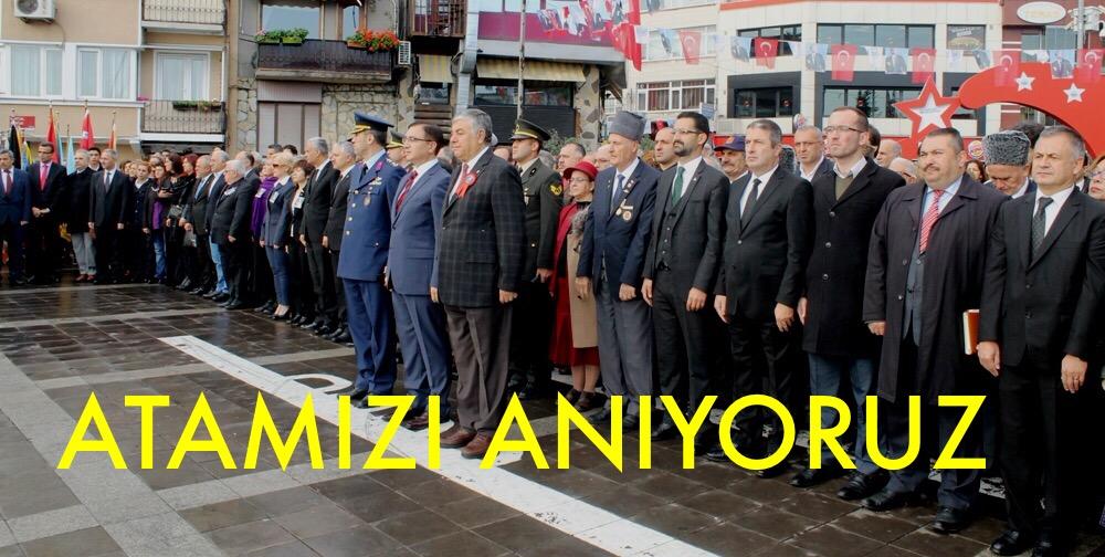 SARIYER'DE ATAMIZI ANIYORUZ