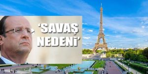 "HOLLANDE, ""PARİS SALDIRILARI SAVAŞ NEDENİDİR"""
