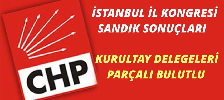 CHP İSTANBUL İL KONGRESİ SANDIK SONUÇLARI