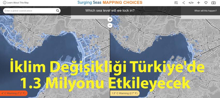 İklim Değişikliği Türkiye'yi Nasıl Etkileyecek?