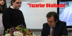 Behçet Kemal Çağlar Anadolu Lisesi'nde  Yazar Galip Uyar Söyleşisi
