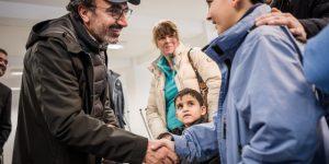 DAVOS'UN ARDINDAN TENT ALMANYA'DA TANITILDI