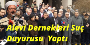 Alevi Dernekleri , Mehmet Görmez Hakkında Suç Duyurusu