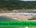 Sarıyer, Dalya Sahiline Çıkışlar Yasaklandı