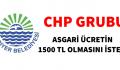 SARIYER BELEDİYESİNDE ASGARİ ÜCRET 1500 TL