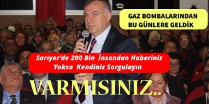 MÜLKİYETTE, GAZ BOMBALARINDAN BUGÜNLERE GELDİK