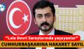 """""""Lale Devri Saraylarında yaşayanlar"""" CUMHURBAŞKANINA HAKARET SAYILDI"""