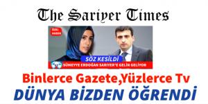 """""""MİLYONLAR İZLEDİ""""Sümeyye Erdoğan Sarıyer'e Gelin Geliyor"""