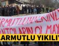 ARMUTLU'DA OLAYLI YIKIM