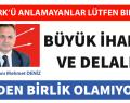 Mehmet Deniz. ATATÜRK'Ü ANLAMAYANLAR LÜTFEN BIRAKINIZ