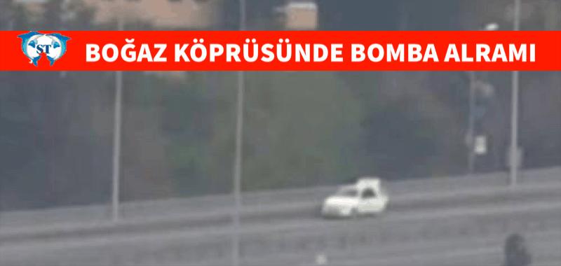 Boğaziçi Köprüsü'nde bomba alarmı