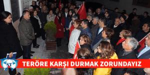 """Mehmet Deniz""""TERÖRE KARŞI DURMAK ZORUNDAYIZ"""""""