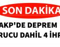AKP'DEN KURUCU DAHİL KİŞİ İHRAÇ EDİLDİ