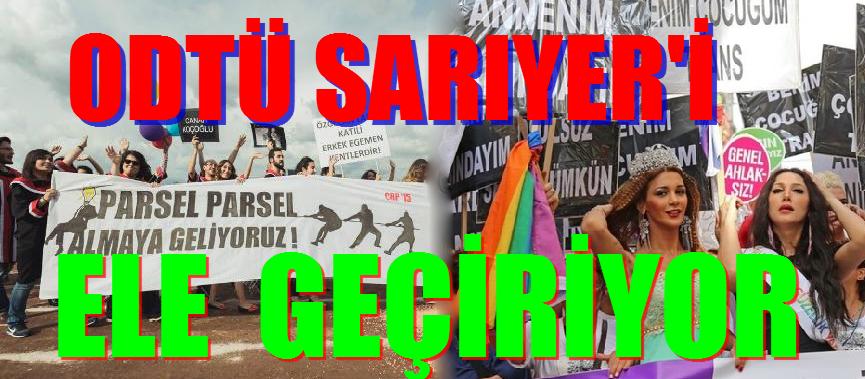 SARIYER'DE ODTÜ'LÜ ÖĞRENCİLER İÇİN FİDAN VE ANIT DİKİLECEK