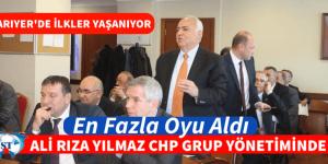 CHP GRUBUNDA ALİ RIZA YILMAZ EN FAZLA OYU ALDI