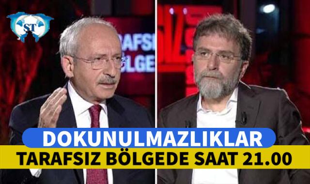 Kemal Kılıçdaroğlu Tarafsız Bölge'de Ahmet Hakan'ın Konuğu