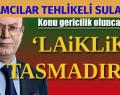 İSLAMCILAR TEHLİKELİ SULARDA
